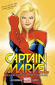 [Captain Marvel: Volume 1: Higher, Further, Faster, More (Product Image)]
