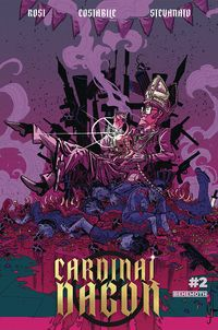 [The cover for Cardinal Dagon #2]