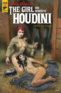 [Minky Woodcock: The Girl Who Handcuffed Houdini #3 (Cover B Harper) (Product Image)]