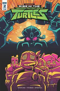 [Teenage Mutant Ninja Turtles: Rise Of The Teenage Mutant Ninja Turtles #2 (Cover A - Suriano) (Product Image)]