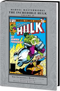 [Marvel Masterworks: Incredible Hulk: Volume 15 (Hardcover) (Product Image)]