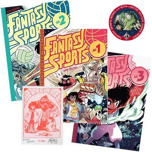 [Fantasy Sports: 1-3 Pack (Forbidden Planet Exclusive Signed Mini Print Edition - Hardcover) (Product Image)]