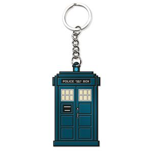 [Doctor Who: Keychain: Thirteen Doctor's TARDIS (Product Image)]
