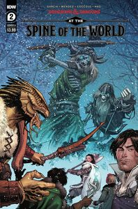 [Dungeons & Dragons: At The Spine Of World #2 (Cover A Coccolo) (Product Image)]