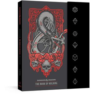 [The Book Of Holding: Dungeons & Dragons: A Journal (Product Image)]