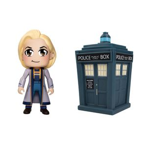 [Doctor Who: TITANS Figure: Thirteenth Doctor Kawaii & TARDIS (Twin Pack) (Product Image)]