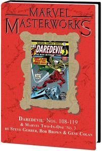 [Marvel Masterworks: Daredevil: Volume 11 (Hardcover - DM Variant Edition) (Product Image)]