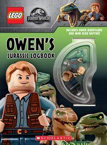 [LEGO: Jurassic World: Owen's Jurassic Logbook (Hardcover) (Product Image)]