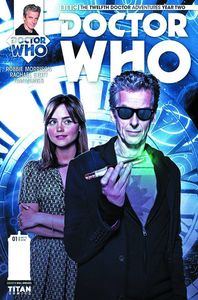 [Doctor Who: 12th: Year 2 #1 (Brooks Subscription Photo Variant) (Product Image)]