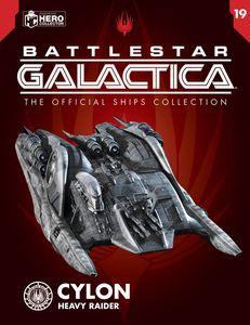 [Battlestar Galactica Ships Magazine #19: Heavy Raider (Product Image)]