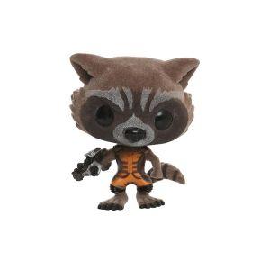 [Marvel: Guardians Of The Galaxy: Pop! Vinyl Figures: Rocket Racoon (Flocked  Version) (Product Image)]