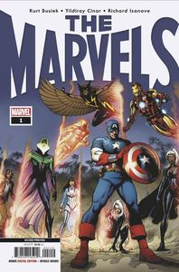 [The Marvels #1 (2nd Printing Cinar Variant) (Product Image)]