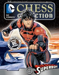 [DC: Chess Figure Collection Magazine #82 Superboy White Pawn (Product Image)]