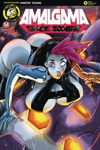 [Amalgama Space Zombie: Galaxy's Most Wanted #2 (Cover C Rudetoons) (Product Image)]