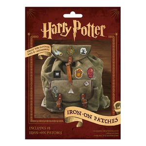 [Harry Potter: Iron On Patches (Product Image)]