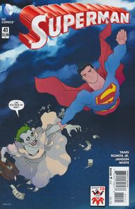 [Superman #41 (The Joker Variant Edition) (Product Image)]