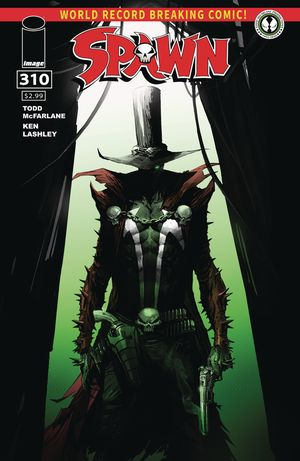 [The cover for Spawn #310 (Cover A Mattina)]