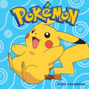 [Pokemon: 2020 Wall Calendar (Product Image)]