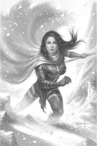 [Dejah Thoris: 2019 #9 (Parrillo Black & White Virgin Variant) (Product Image)]