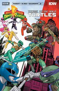 [Power Rangers/Teenage Mutant Ninja Turtles #2 (Cover A Mora) (Product Image)]