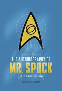 [The Autobiography Of Mr Spock (Hardcover) (Product Image)]