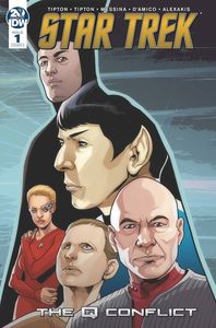 [Star Trek: Q Conflict #1 (Cover A Messina) (Product Image)]
