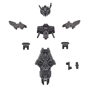 [30 Minute Missions: 1:144 Model Kit: Alto Commander Upgrade (Black) (Product Image)]