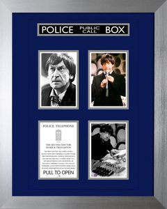 [Doctor Who: 50th Anniversary: Deluxe Framed Print: 2nd Doctor (Limited Edition) (Product Image)]