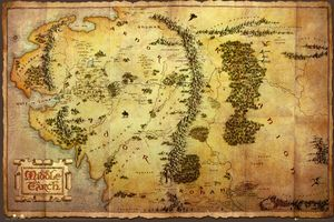 [The Hobbit: Poster: Map (Product Image)]