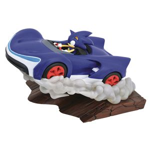 [Sonic The Hedgehog: Sonic Racers: Gallery PVC Statue: Sonic (Product Image)]