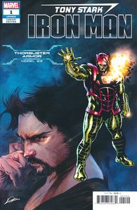 [Tony Stark: Iron Man #1 (Thorbuster Armor Variant) (Product Image)]