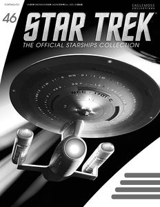 [Star Trek: Starships Figure Collection Magazine #46 Enterprise NCC-1701C (Product Image)]