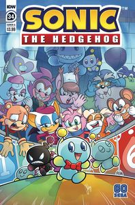 [Sonic The Hedgehog #34 (Cover A Bulmer) (Product Image)]