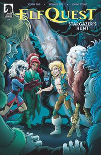 [The cover for Elfquest: Stargazers Hunt #4]