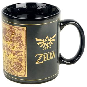 [Legend Of Zelda: Heat Change Mug: Map (Product Image)]
