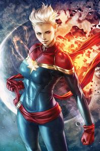 [Life Of Captain Marvel #1 (Artgerm Variant) (Product Image)]