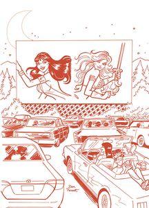 [Red Sonja & Vampirella Meet Betty & Veronica #9 (Parent Tint Red Variant) (Product Image)]