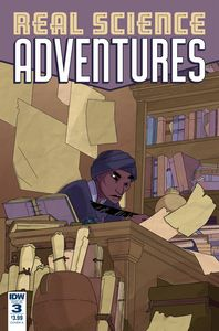 [Real Science Adventures: Nicodemus Job #3 (Cover A Mcclaren) (Product Image)]