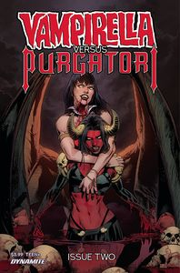 [Vampirella Vs Purgatori #2 (Cover B Pagulayan) (Product Image)]