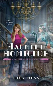 [A Haunted Mansion Mystery: Book 1: Haunted Homicide (Product Image)]