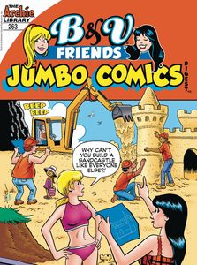 [B & V Friends: Jumbo Comics Digest #263 (Product Image)]