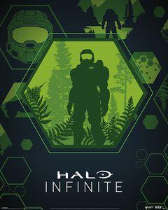 [Halo: Infinite: Mini Poster: Master Chief Hex (Product Image)]