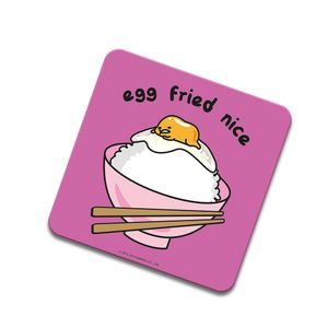 [Gudetama: Coaster: Egg Fried Nice (Product Image)]
