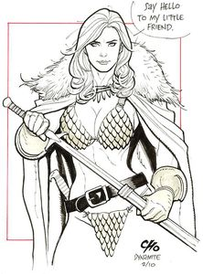 [Invincible Red Sonja #3 (Cover T Cho Virgin Variant) (Product Image)]