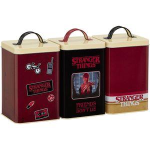 [Stranger Things: Storage Set: Retro Logo (Product Image)]