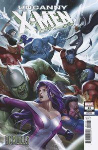 [Uncanny X-Men #11 (Inhyuk Lee Skrulls Variant) (Product Image)]
