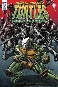 [Teenage Mutant Ninja Turtles: Urban Legends #7 (Cover A Fosco) (Product Image)]
