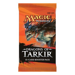 [Magic The Gathering: Dragons Of Tarkir: Booster Pack (Product Image)]