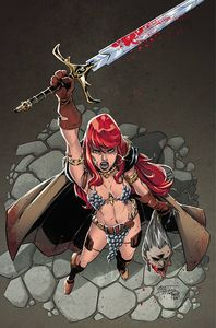 [Red Sonja #27 (Miracolo Virgin Variant) (Product Image)]