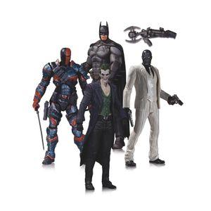 [Batman: Arkham Origins: Action Figures: 4 Pack (Product Image)]